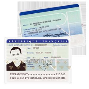 recto verso carte d identité Changement de carte grise   Immatriculez un véhicule d'occasion